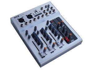 Mixer Audio 4 Canali con USB - F4 Nuovo Euro 90