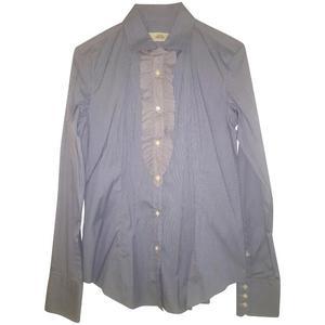 camicia maniche lunghe azzurra tg.48