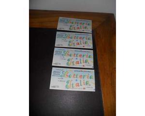 4 biglietti lotteria Italia
