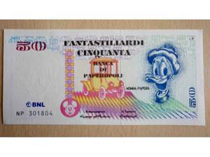 50 Fantastiliardi - Nonna Papera + francobolli Topolino e