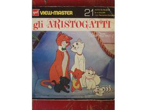 Aristogatti View Master anni '70