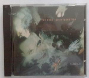 CD The Cure,Disintegration  Fiction Records 83