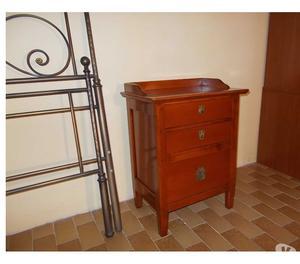 Camera da letto in legno stile arte povera posot class - Letto arte povera ...