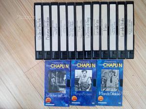 Charlie Chaplin - serie completa 15 VHS
