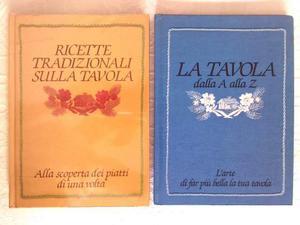 Libri di ricette Mulino Bianco Barilla anni 80