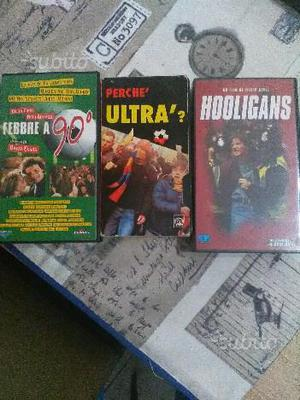 Lotto 3 vhs genere ultras holligans
