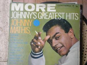 More johnny's greatest hits johnny mathis 33 giri
