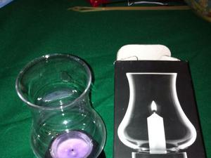 Portacandele in vetro posot class - Portacandele in vetro ...