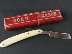 Rasoio Barba Corn Razor Made in England