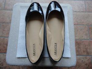 Scarpe da donna ballerine di colore nero
