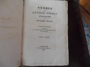 Storia degli antichi Popoli Italiani
