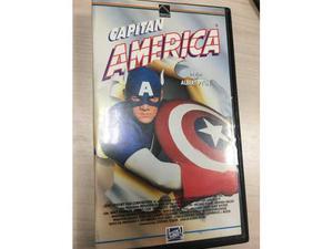 VHS videocassetta Capitan America - Albert Pyun