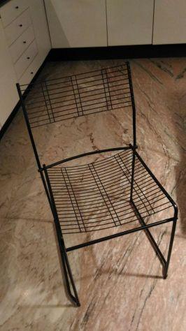 Vendo 5 sedie di design marchio SCHIFFINI
