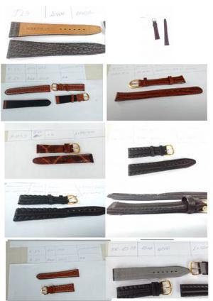 Vendo cinturini in VERA PELLE, per orologi da polso.