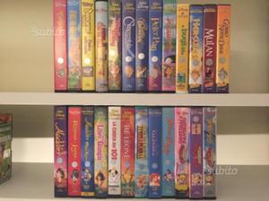 Videocassette Vhs originali Disney