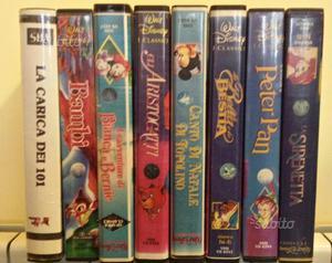 Videocassette classici walt disney