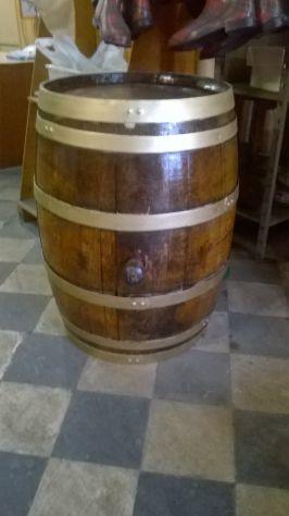 botte in legno da 250 litri