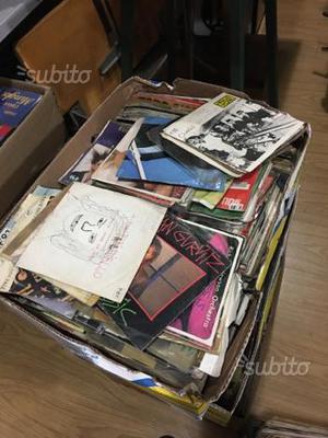 dischi 45 giri ex radio in blocco