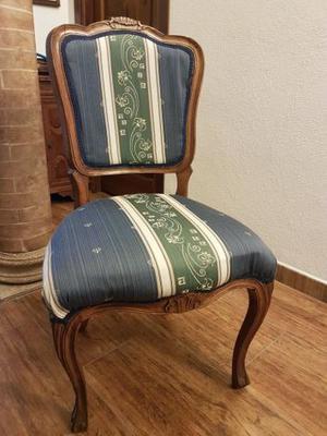 sedia poltrona antica in legno