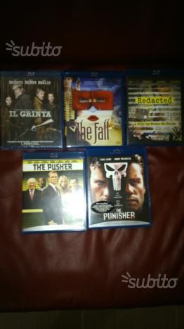 16 Blu ray originali