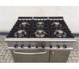 Cucine per ristorante professionale 6 fuochi posot class for Cucina 6 fuochi zanussi usata