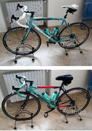 Due Bici Bianchi Reparto Corsa - Da Ciclista