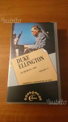 Due videocassette Jazz (Ellington-Mingus)