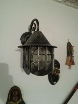 Lampade in ferro battuto