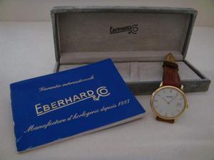 """Orologio Eberhard & Co. in oro 18 carati anni 90"""""""