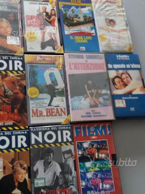 Video cassette collezione mai usate
