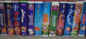 Videocassette originali cartoni animati disney