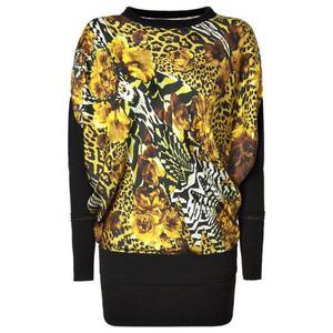 silk caftan dress of roberto cavalli new with tags