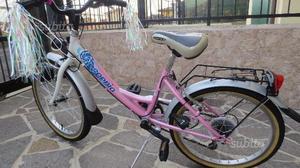 Bicicletta bambina ruote 20 pollici