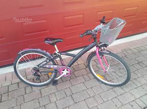 Bicicletta x bambina dai 5 / 10 anni