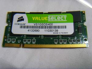 Memoria ram ddr so dimm da 1 gb corsair