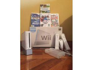 Nintendo Wii con giochi e accessori