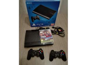 PS3 SUPER SLIM 500gb Perfetta +PES tutto come nuovo