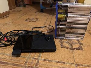 PlayStation 2 slim con giochi