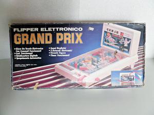 """Scatola originale Flipper d'epoca elettronico """" GRAND PRIX """""""