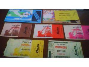 Biglietti Padova usati (calcio pallavolo)