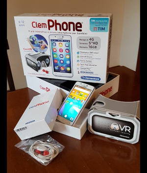 Cellulare smartphone clemphone