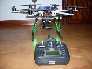Drone dji f550 naza v2 gps turnigy gimbal