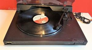 Giradischi stereo vintage vinile