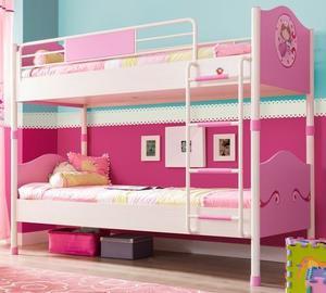 Letto a castello (90x200 cm) per principesse - Princess -