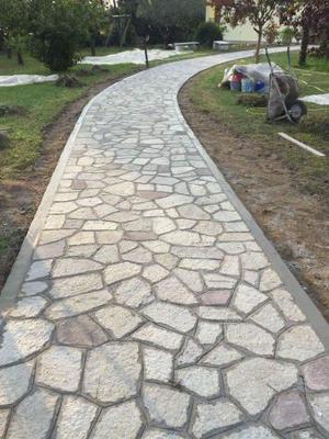 Pietra di Luserna per pavimenti e rivestimenti