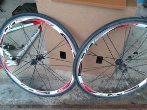 Ruote bici da corsa in alluminio