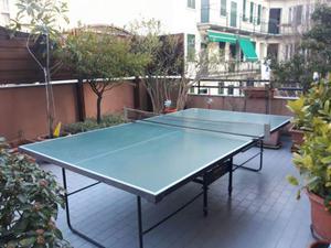 Tavolo ping pong super olimpic chiodi posot class - Misure tavolo da ping pong professionale ...