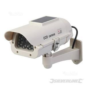 Videocamera di sorveglianza a LED ad energia solar