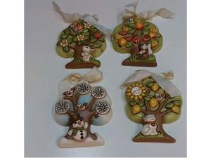 Formelle 4 stagioni in ceramica thun nuove con scatola mai