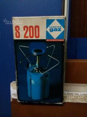 Fornello + lanterna a gas da campeggio